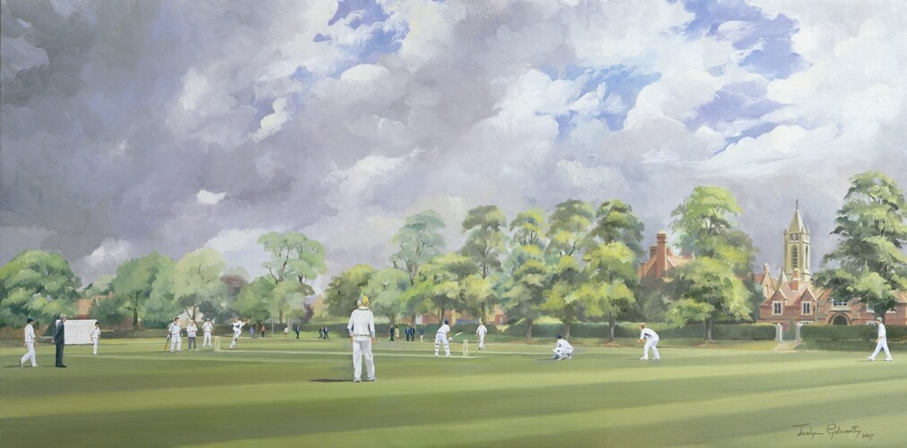 cricket-painting-jocelyn-galsworthy